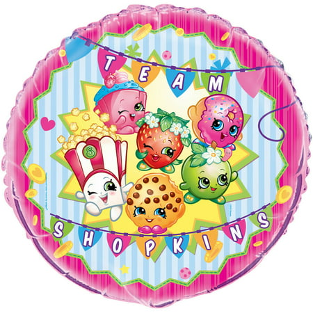 Foil Shopkins Balloon, 18 in, 1ct (18 Balloon)