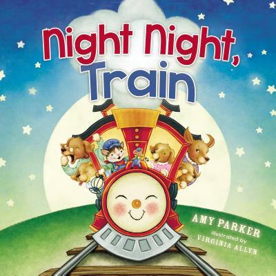 Night Night Train (Board Book)