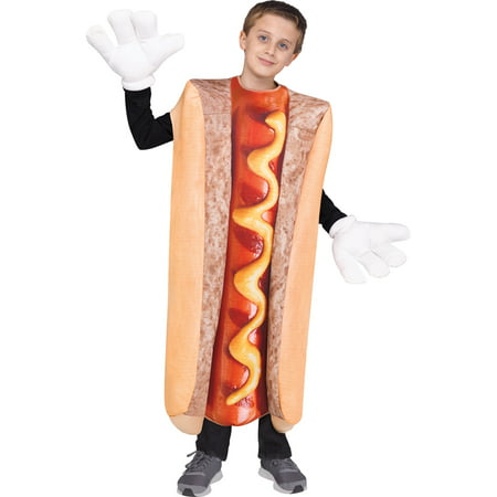 Kids Photo Real Hot Dog Costume up to size 14](Ballerina Costume For Dogs)