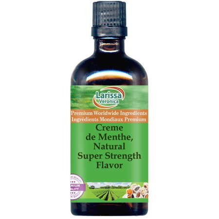 Creme de Menthe, Natural Super Strength Flavor (1 oz, ZIN: (Best Creme De Menthe)