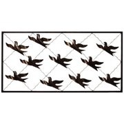 Casa Cortes Flock of Birds Handcrafted Metal Wall Decor
