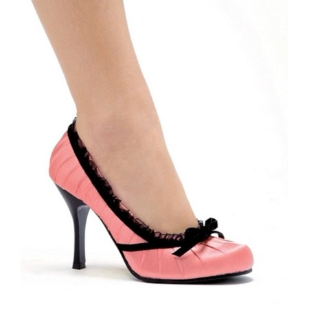 Nina Satin Pumps - Ellie Shoes 4