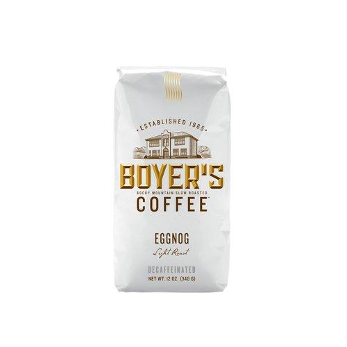 Boyer's Coffee Eggnog Ground Coffee, 12 oz
