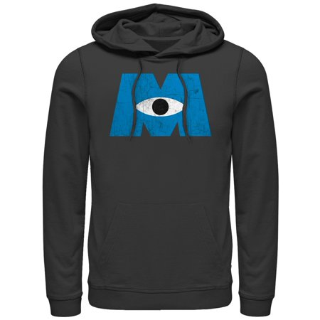 Monsters Inc Men's Eye Logo Hoodie