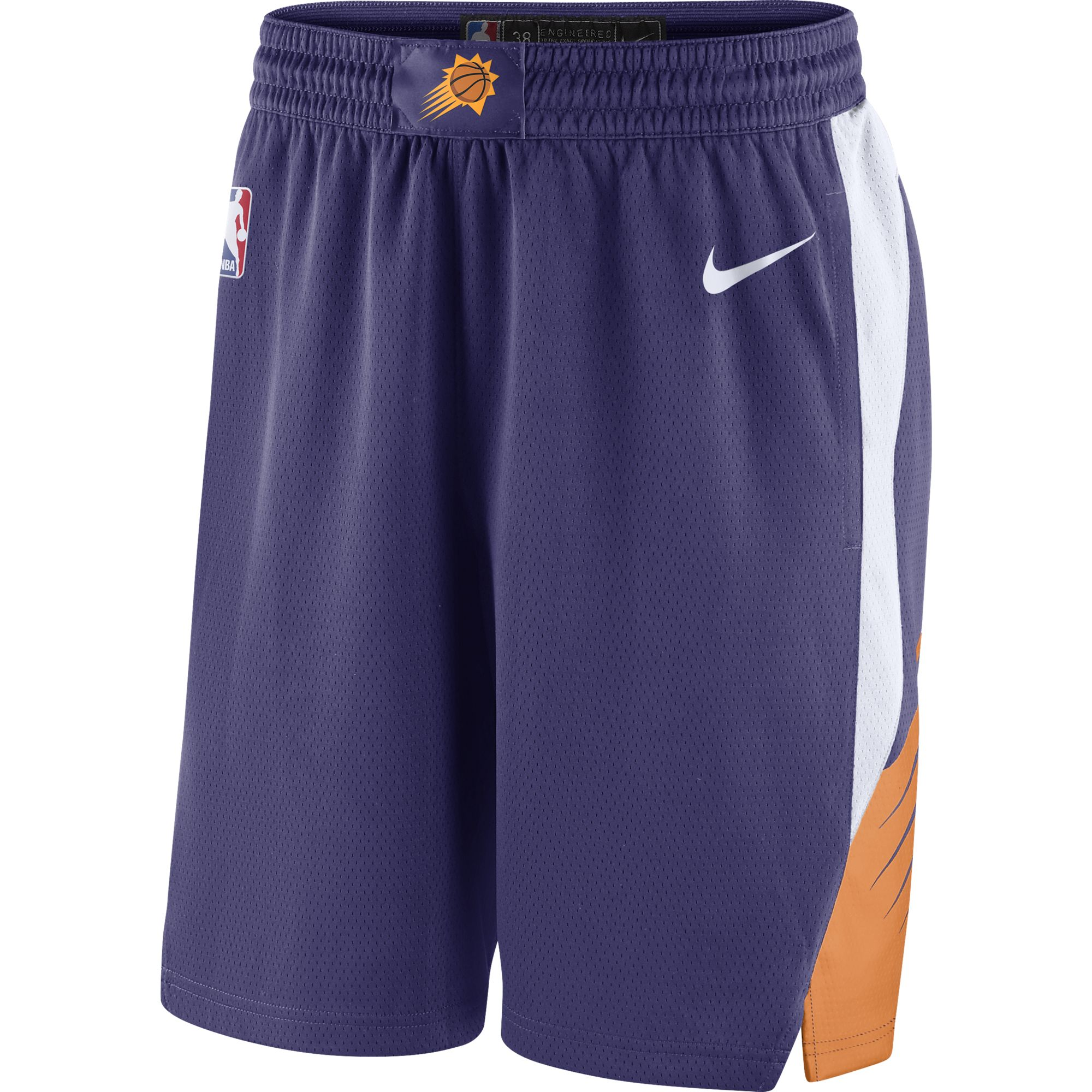Phoenix Suns Nike 2018/19 Icon Edition Swingman Shorts - Purple