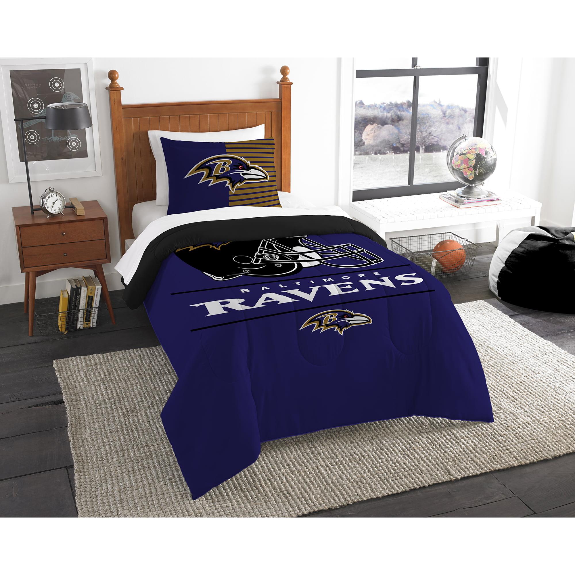 Baltimore Ravens The Northwest Company NFL Draft Twin Comforter Set - No Size