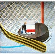 Sport & Hobby Postbound Album 12''X12'', Hockey