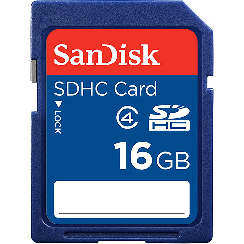 SanDisk 16GB Class 4 SD Card