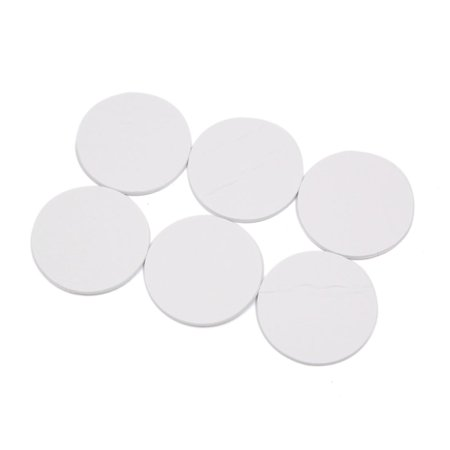 6 Pcs 40mm Dia. Round Strong Double Sided Foam Tape Mounting Adhesive Sticky Pad (Foam Mounting Pads)