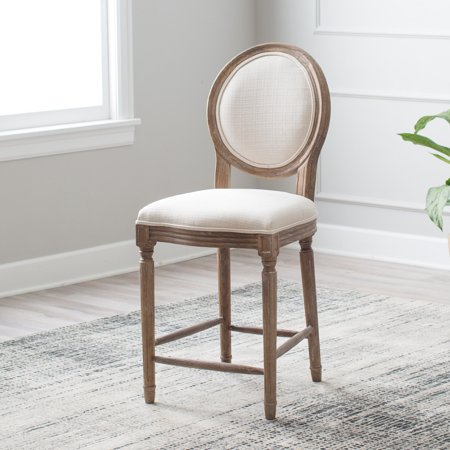 Brilliant Belham Living Bethany Round Back Counter Stool Bralicious Painted Fabric Chair Ideas Braliciousco