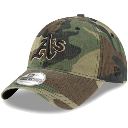 check out 30b35 3687a Oakland Athletics New Era Core Classic Twill 9TWENTY Adjustable Hat ...