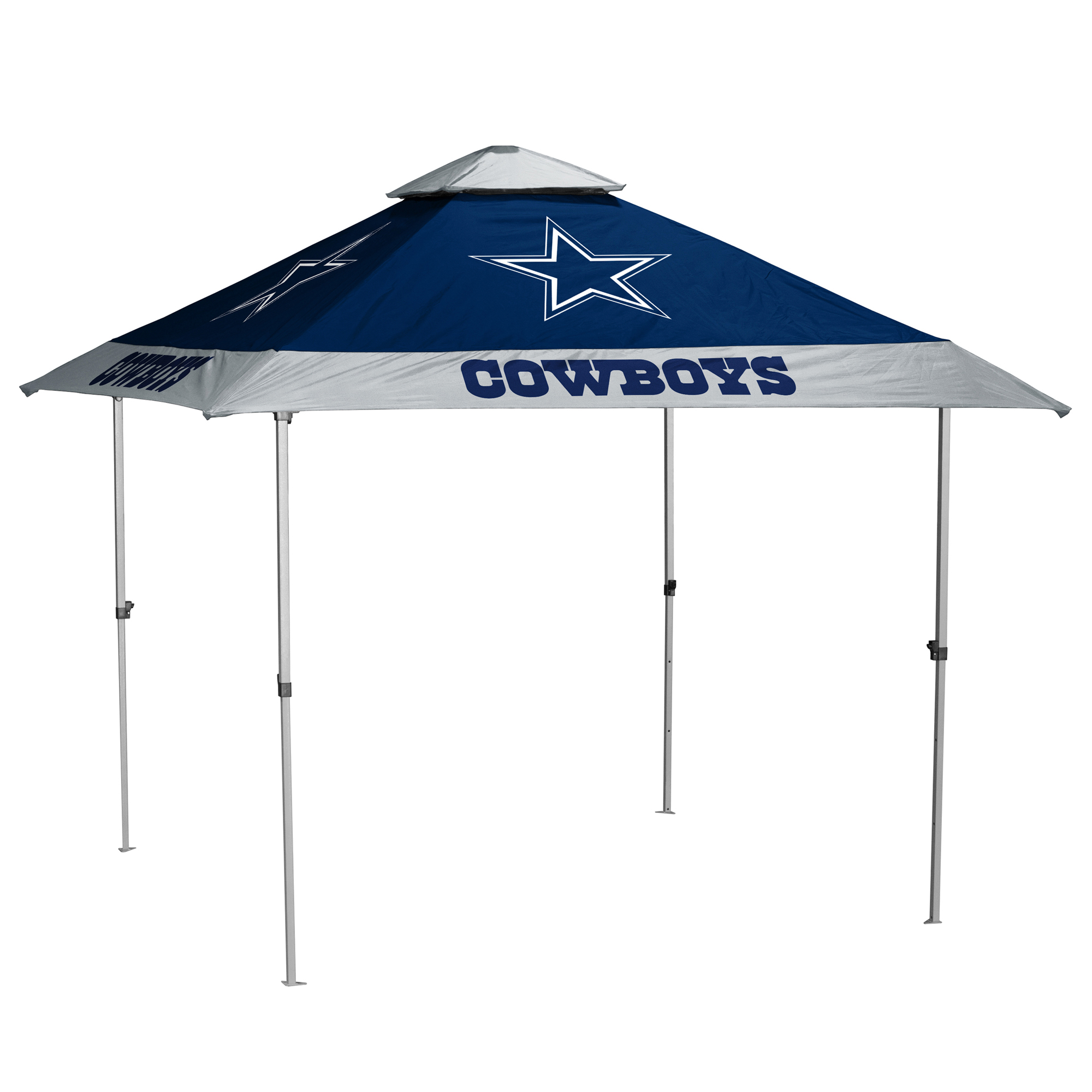 Dallas Cowboys 9' x 9' Pagoda Tailgate Canopy No Size by LOGO CHAIR