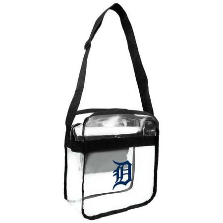 Little Earth - MLB Clear Carryall Cross Body Bag, Detroit -