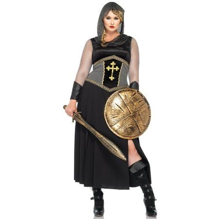 Plus Size Joan Of Arc Adult Halloween - Joan Jett Halloween
