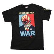 Five Finger Death Punch War T-Shirt Small