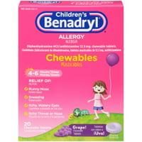 Benadryl Children's Allergy Chewables