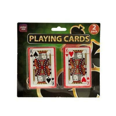 Bulk Playing Cards (Bulk Buys Plastic Coated Poker Size Playing Cards Set,)