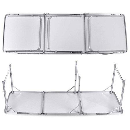 Ktaxon Outdoor Portable Aluminum Camping Picnic 6' Folding Dining Table