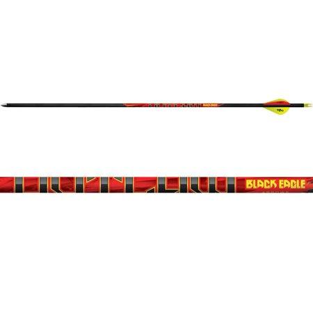 Feather Fletched Arrows (BLACK EAGLE Outlaw Fletched Arrow - Single)