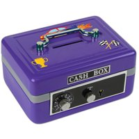 Personalized Race Cars Cash Box