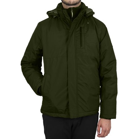 Men's Heavyweight Jacket With Detachable Hood