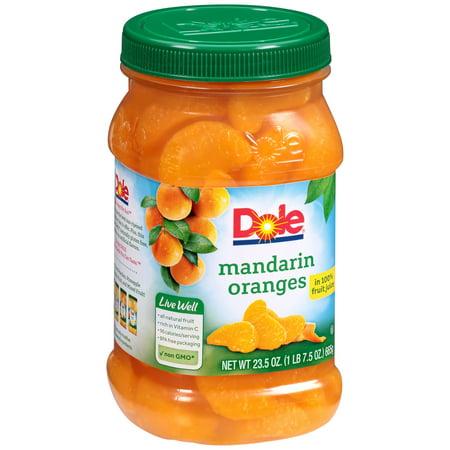 Dole ® Mandarin Oranges in 100% Fruit Juice 23.5 oz. Jar