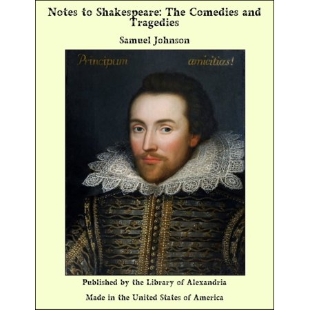 Notes to Shakespeare: The Comedies and Tragedies - eBook](Comedy Tragedy Mask)