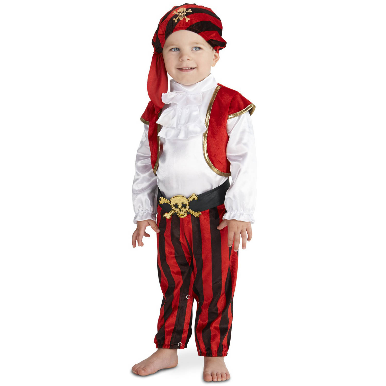 Arrrgh! Arrrgh! Pirate Toddler Halloween Costume, Size 3T-4T by Buy Seasons