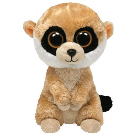 - TY Beanie Boos - REBEL the Meerkat (Solid Eye Color) (Regular Size - 6 inch)