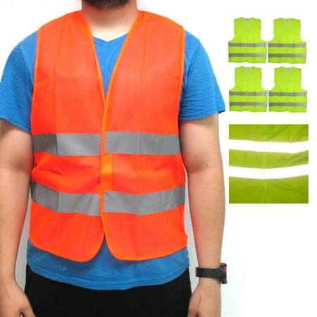 4 High Visibility Reflective Safety Vest 2