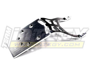 Integy RC Toy Model Hop-ups T7885SILVER Billet Machined Rear Skid Plate for Traxxas 1 10... by Integy