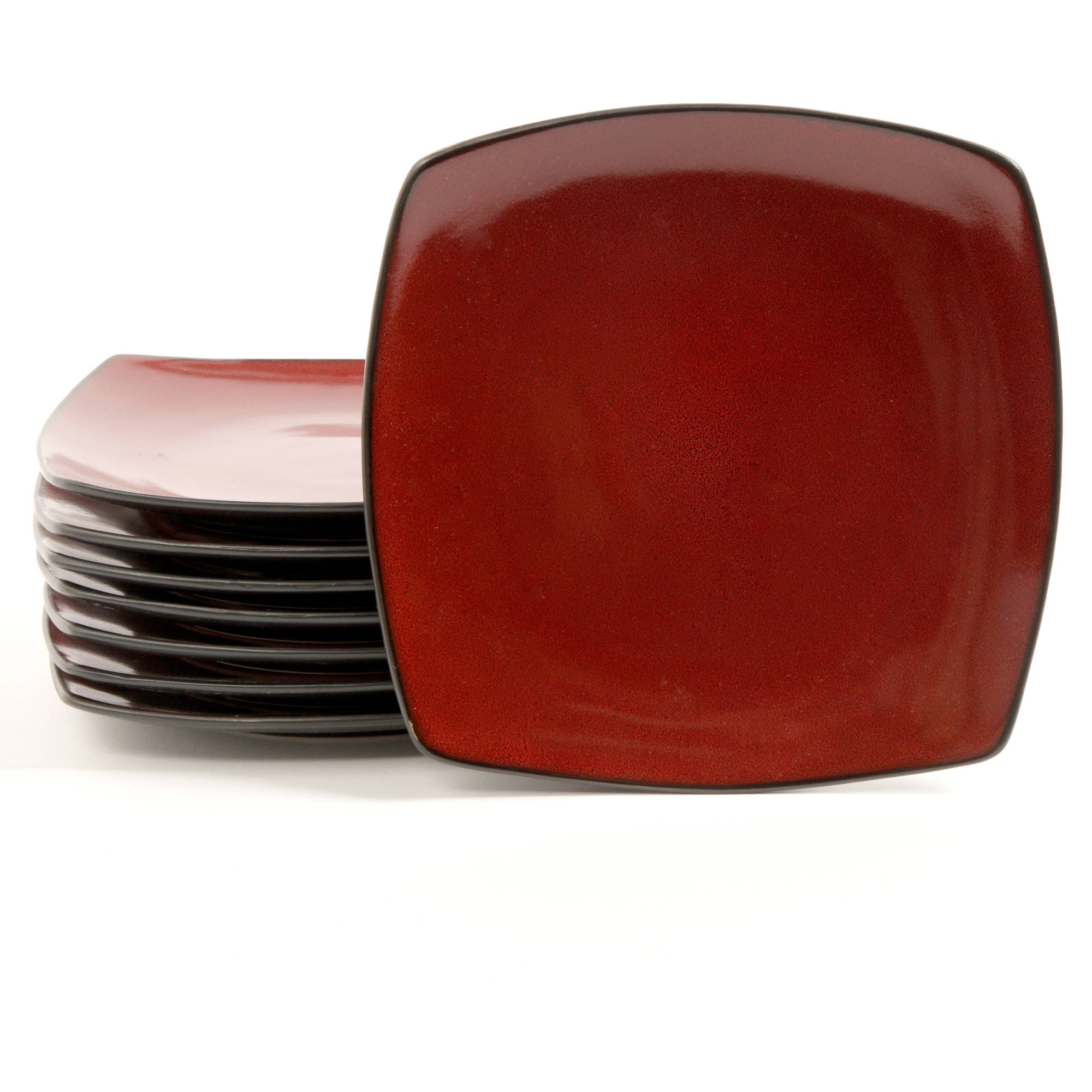 Gibson Home Soho Lounge 10 5 Square Dinner Plates Red Set Of 8  sc 1 st  Best Image Engine & Scintillating Red Square Plastic Dinner Plates Ideas - Best Image ...