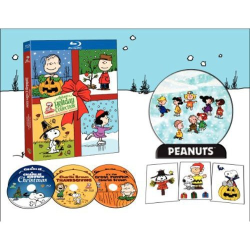 Peanuts Holiday Ultimate Collection: It's The Great Pumpkin, Charlie Brown / A Charlie Brown Thanksgiving / A Charlie Brown Christmas (Blu-ray)