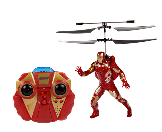 Marvel Comics Licensed Avengers: Age Of Ultron Iron Man 2CH IR RC Helicopter by World Tech Toys