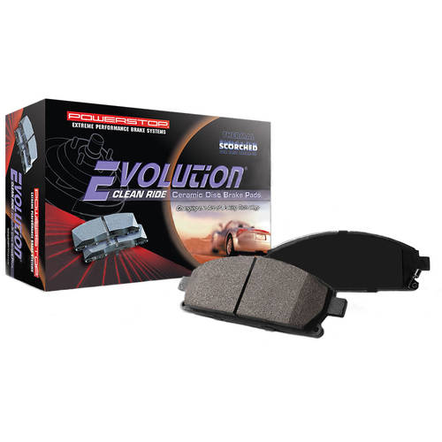 Power Stop Front 16-906A Z16 Evolution Clean Ride Brake Pads