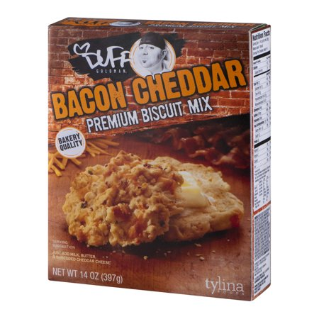Duff Goldman Bacon Cheddar Premium Biscuit Mix 14 Oz