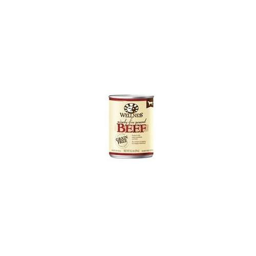Wellness 95And#37; Beef Adult Canned Dog Food