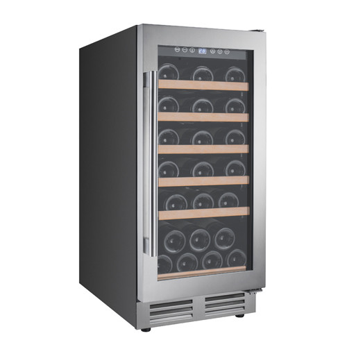 Avanti WCF281E3 28 Bottle 15 Built-In Single Zone Wine Cooler