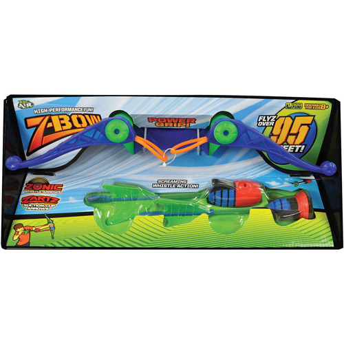 Zing Air Z-Bow with 1 Whistle Arrow and 1 Suction Cup Arrow