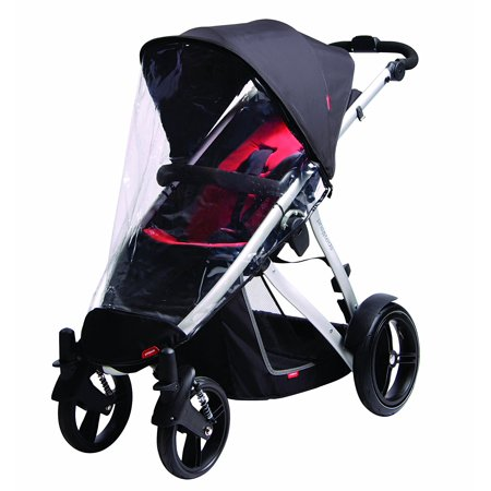 Stormy Weather Cover For Vibe, Vibe 2 Or Verve Single Stroller (Discontinued by Manufacturer), Compatible with your Vibe, Vibe 2 or Verve.., By phil&teds
