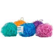 (Pack of 3) Body Image by Body Benefits Gentle Bath Sponge, Colors May Vary