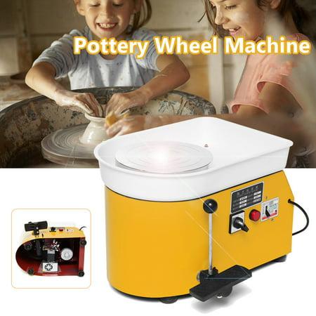 3 color 23.5CM 250W Pottery Wheel Ceramic Machine Ceramic Work Clay Pottery Mold - Clay Wheel