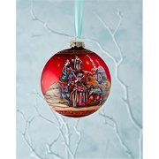 GDeBrekht 73853 5.5 in. Limited Edition Story Of Nativity Glass Ball Ornament