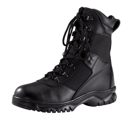 Rothco Forced Entry 5052 Black Tactical Waterproof Boots for Police/SWAT/EMT/EMS (Emt Boots)