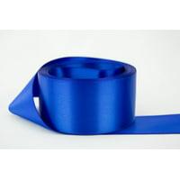 Ribbon Bazaar Double Faced Satin 1-1/2 inch Royal Blue 50 yards 100% Polyester Ribbon