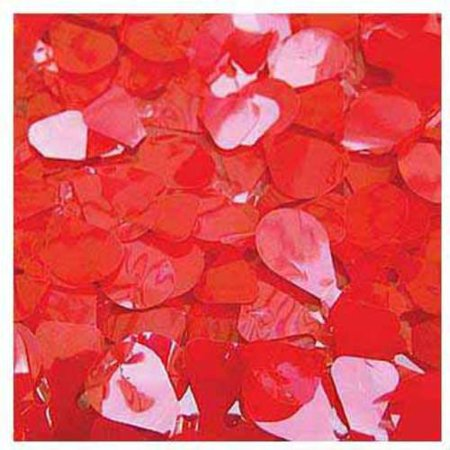 Floral Sheeting Vinyl, Red