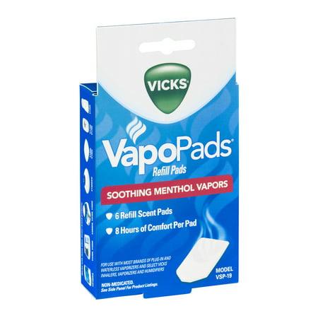 Vicks VapoPads VSP-19, 6 Pack - Walmart com