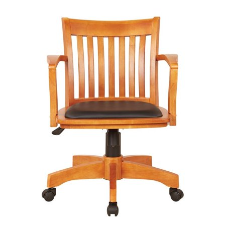 Scranton & Co Deluxe Bankers Office Chair with Vinyl Seat - image 4 of 4