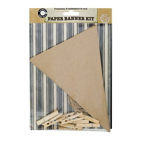 Canvas Home Basics Paper Banner Kit, 17 - Paper Banners