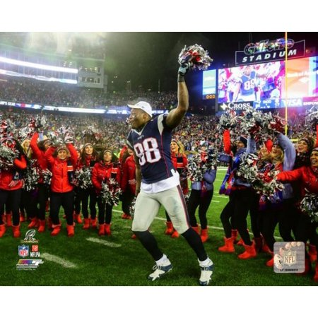 Martellus Bennett 2016 Afc Championship Game Photo Print